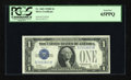 Small Size:Silver Certificates, Fr. 1602 $1 1928B Silver Certificate. PCGS Gem New 65PPQ.. ...