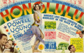 "Movie Posters:Comedy, Honolulu (MGM, 1939). Herald (5.5"" X 7""). Comedy.. ..."