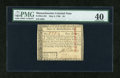 Colonial Notes:Massachusetts, Massachusetts May 5, 1780 $4 PMG Extremely Fine 40....