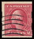 Stamps, #482A, 1916, 2c Deep Rose, Type Ia. (Used)....