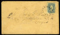 Stamps, #11, 1863, 10c Blue. (Used)....