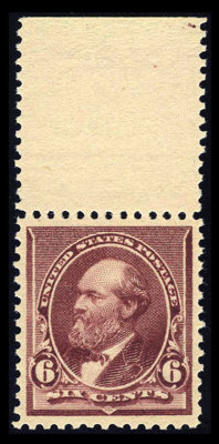 #224, 1890, 6c Brown Red, XF-S 95 PSE. (Original Gum - Never Hinged)