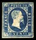 Stamps, 20c Blue (2),...
