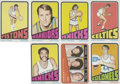 Basketball Cards:Lots, 1972-73 Topps Basketball Collection (35). ...