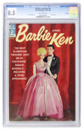 Silver Age (1956-1969):Miscellaneous, Barbie and Ken #5 File Copy (Dell, 1964) CGC VF+ 8.5 Off-whitepages....