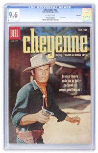 Cheyenne #12 File Copy (Dell, 1959) CGC NM+ 9.6 Off-white pages