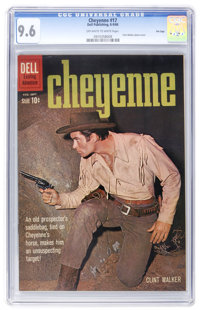 Cheyenne #17 File Copy (Dell, 1960) CGC NM+ 9.6 Off-white to white pages