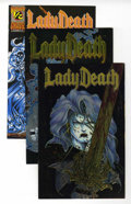 Modern Age (1980-Present):Alternative/Underground, Lady Death Group (Chaos, 1994) Condition: Average NM-.... (Total: 3Comic Books)