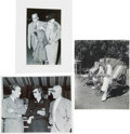 Movie/TV Memorabilia:Photos, Boris Karloff 1930s Candid Photos.... (Total: 3 )