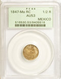 Mexico, Mexico: Lot of three handsome muchachos.... (Total: 3 coins)