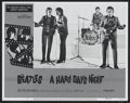 "Movie Posters:Rock and Roll, A Hard Day's Night (Universal, R-1982). Lobby Card (11"" X 14"").Rock and Roll...."