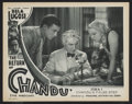 "Movie Posters:Serial, The Return of Chandu (Principal Distributing, 1934). Lobby Card(11"" X 14""). Episode 6 -- ""Chandu's False Step"". Serial...."