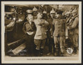"""Movie Posters:Comedy, Shoulder Arms (First National, 1918). Lobby Card (11"""" X 14"""").Comedy.. ..."""