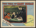 "Movie Posters:Drama, The Trial of Mary Dugan (MGM, 1929). Lobby Card (11"" X 14""). Drama...."