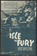 "Movie Posters:Adventure, Isle of Fury (Warner Brothers, 1936). Pressbook (Multiple Pages,11"" X 17.25""). Adventure...."