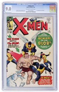 X-Men #3 (Marvel, 1964) CGC VF/NM 9.0 Off-white to white pages