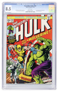 Bronze Age (1970-1979):Superhero, The Incredible Hulk #181 (Marvel, 1974) CGC VF+ 8.5 White pages....