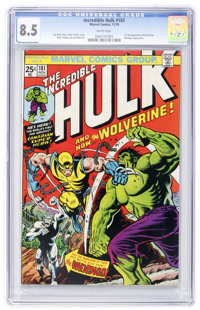 The Incredible Hulk #181 (Marvel, 1974) CGC VF+ 8.5 White pages