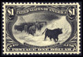 Stamps, #292, 1898, $1 Black, XF-S 95 PSE. (Original Gum - Previously Hinged).... (Total: 1 Slab)