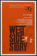 "Movie Posters:Musical, West Side Story (United Artists, 1961). One Sheet (27"" X 41"").Musical...."