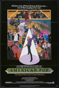 "Movie Posters:Animated, American Pop (Columbia, 1981). One Sheet (27"" X 40.5"").Animated...."