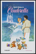 "Movie Posters:Animated, Cinderella (Buena Vista, R-1981). One Sheet (27"" X 41"").Animated...."