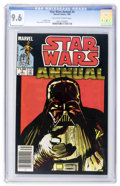 Modern Age (1980-Present):Science Fiction, Star Wars Annual #3 (Marvel, 1983) CGC NM+ 9.6 Off-white to whitepages....