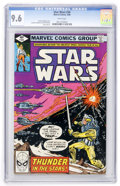 Modern Age (1980-Present):Science Fiction, Star Wars #34 (Marvel, 1980) CGC NM+ 9.6 White pages....