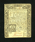 Colonial Notes:Connecticut, Connecticut June 1, 1780 1s/3d Very Fine....