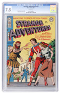 Golden Age (1938-1955):Science Fiction, Strange Adventures #19 (DC, 1952) CGC VF- 7.5 White pages....