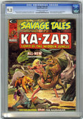 Magazines:Superhero, Savage Tales #6 (Marvel, 1974) CGC NM- 9.2 Off-white to whitepages....