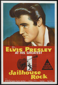 "Movie Posters:Elvis Presley, Jailhouse Rock (MGM, 1957). Australian One Sheet (27"" X 40""). ElvisPresley...."