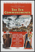 "Movie Posters:Historical Drama, The Ten Commandments (Paramount, 1956). One Sheet (27"" X 41"") StyleA. Historical Drama...."