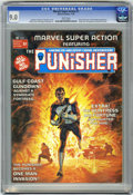 Magazines:Superhero, Marvel Super Action #1 The Punisher (Marvel, 1976) CGC VF/NM 9.0White pages....