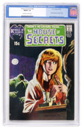 Bronze Age (1970-1979):Horror, House of Secrets #92 (DC, 1971) CGC FN/VF 7.0 Off-white to whitepages....