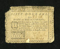 Colonial Notes:North Carolina, North Carolina August 8, 1778 $50 Fine, Damaged....