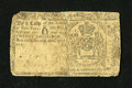 Colonial Notes:New York, New York April 20, 1756 20s Fine, Damaged....