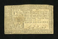 Colonial Notes:Pennsylvania, Pennsylvania April 10, 1777 4s Very Fine-Extremely Fine....