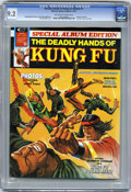 Magazines:Miscellaneous, The Deadly Hands of Kung Fu Annual #1 (Marvel, 1974) CGC NM- 9.2Off-white to white pages....