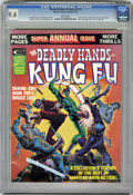 Magazines:Superhero, The Deadly Hands of Kung Fu #15 White pages (Marvel, 1975) CGC NM9.4 White pages....