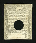 Colonial Notes:Connecticut, Connecticut July 1, 1780 20s Very Fine-Extremely Fine....