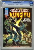 Magazines:Superhero, The Deadly Hands of Kung Fu #11 (Marvel, 1975) CGC NM- 9.2 Whitepages....