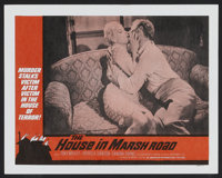 """The House in Marsh Road (American International, 1960). Lobby Card Set of 8 (11"""" X 14""""). Horror.... (Total: 8..."""