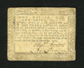 Colonial Notes:Maryland, Maryland December 7, 1775 $1/3 Very Fine....