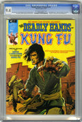 Magazines:Superhero, The Deadly Hands of Kung Fu #4 (Marvel, 1974) CGC NM 9.4 Off-whiteto white pages....