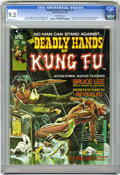 Magazines:Superhero, The Deadly Hands of Kung Fu #1 (Marvel, 1974) CGC NM- 9.2 Off-whitepages....