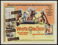 "Movie Posters:Adventure, The White Orchid Lot (United Artists, 1954). Title Lobby Card andLobby Cards (4) (11"" X 14""). Adventure.... (Total: 5 Items)"