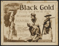 "Movie Posters:Black Films, Black Gold (Norman, 1928). Lobby Card Set of 8 (11"" X 14"") andPressbook (14"" X 28""). Black Films.... (Total: 9 Items)"