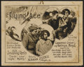 """Movie Posters:Black Films, The Flying Ace (Norman, 1926). Lobby Card Set of 8 (11"""" X 14"""") andProgram (14"""" X 22""""). Black Films.... (Total: 9 Items)"""