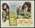 "Movie Posters:War, From Here to Eternity (Columbia, 1953). Lobby Card Set of 8 (11"" X14""). War.... (Total: 8 Items)"